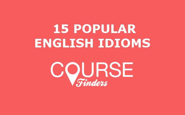 popular-English-idioms