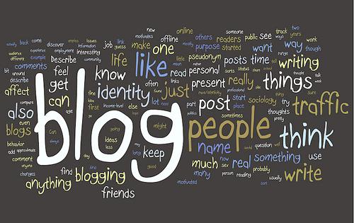 ecrire blog