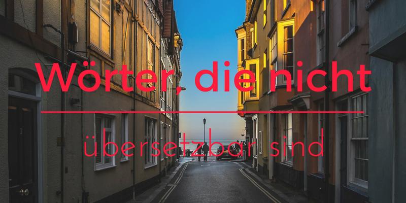 Wörter, die nicht Übersetzung