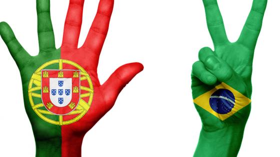 portoghese brasiliano portugués brasileño