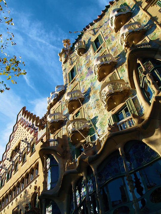 Arquitetura de Gaudi, Barcelona