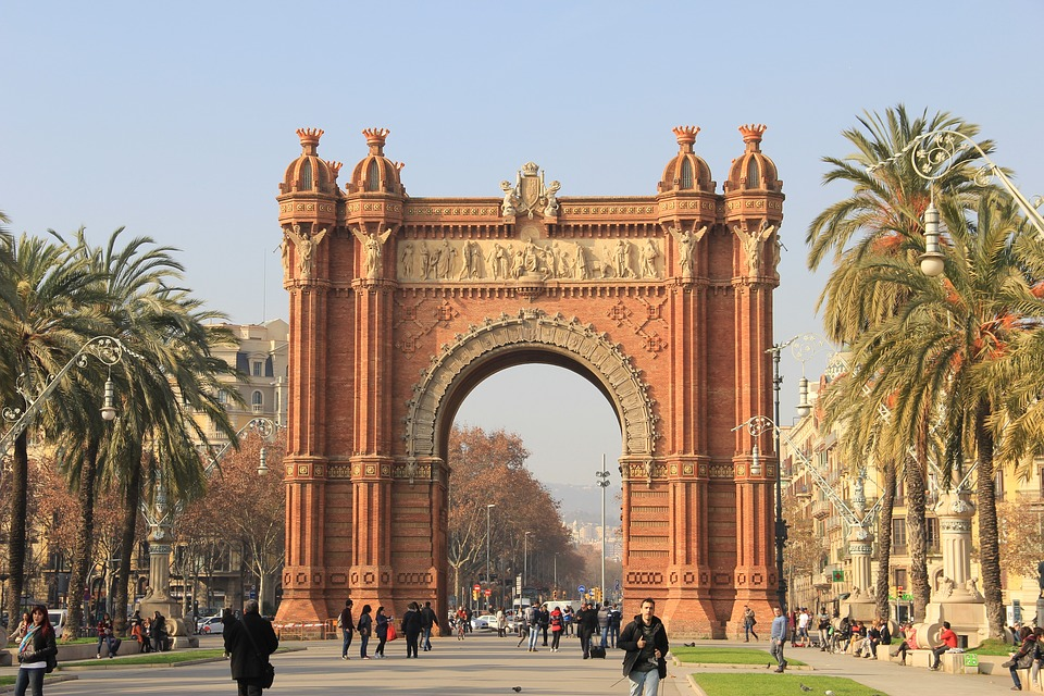 Triumphal Arch, Barcelona