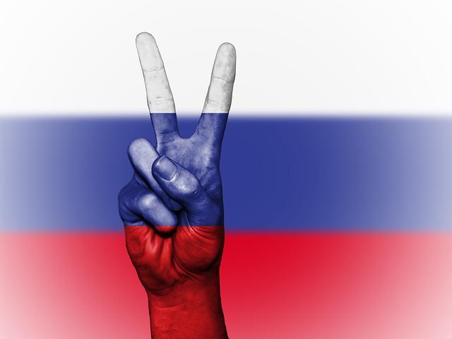 bandera rusa-rusia