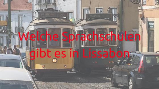 Welche Sprachschulen gibt es in Lissabon