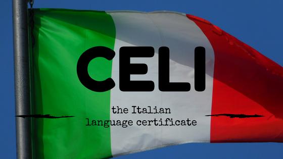 CELI - the Italian language certificate