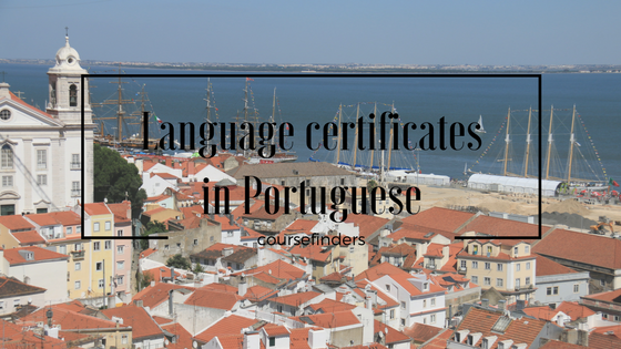 Language certificates in Portuguese