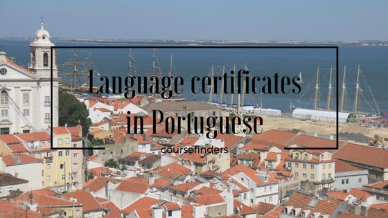 Language certificates in Portuguese