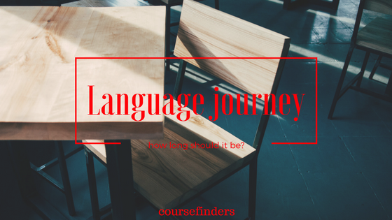Language journey - how long should it be