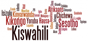 langues africaines