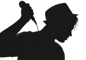 silhouette-cantante