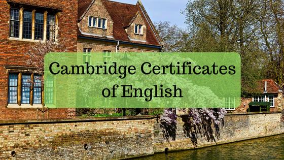 Cambridge Certificates of English