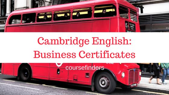 Cambridge English-Business Certificates