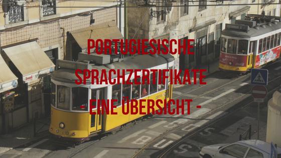 Portugiesische Sprachzertifikate- eine Übersicht -