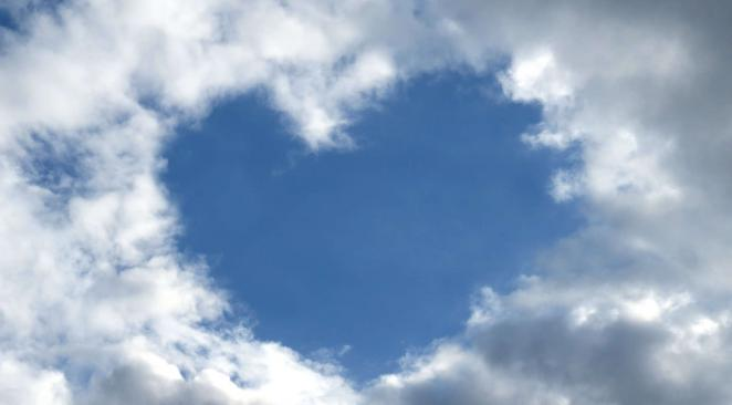 coeur dans ciel