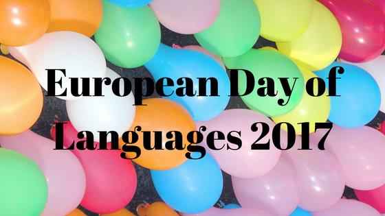 European Day of Languages 2017