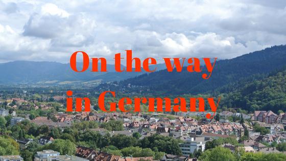 On the wayin Germany