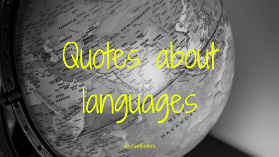 Quotes aboutlanguages