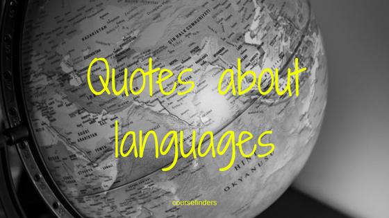Quotes aboutlanguages