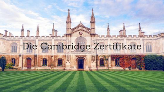 Die Cambridge Zertifikate