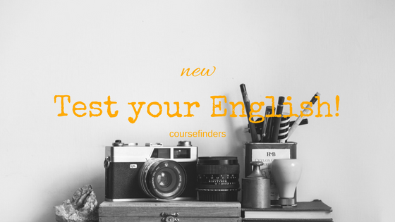 New-Test yourEnglish!