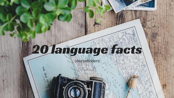 20 language facts