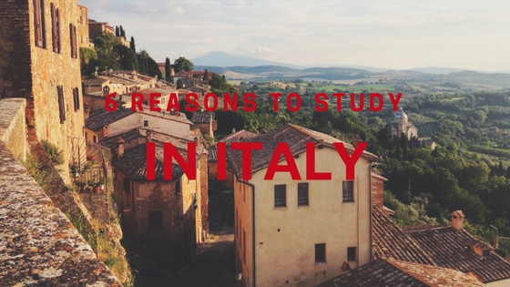 6 reasons to study in Italy