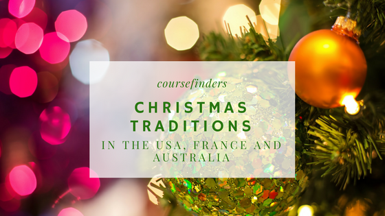 Christmas traditions in the USA, France and Australia