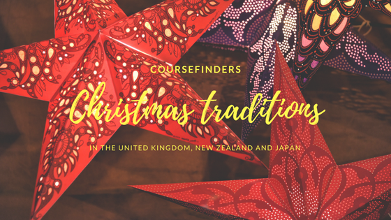Christmas traditions in the United Kingdom, New Zealand and Japan