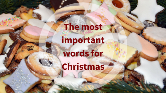 The most important words for Christmas