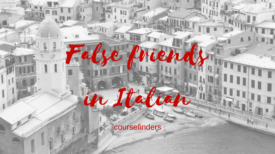 False friendsin Italian