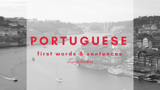 Portuguese - first words and sentences