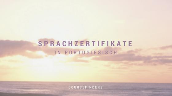 Sprachzertifikate in Portugiesisch