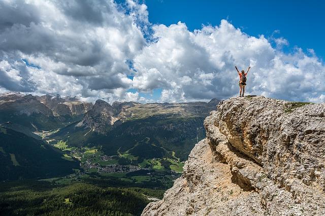 wejść na szczyt