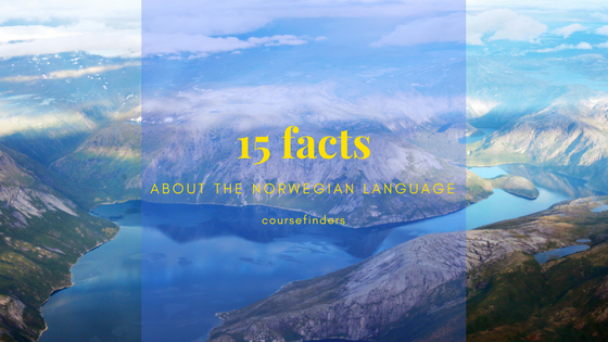 15 facts about the Norwegian language