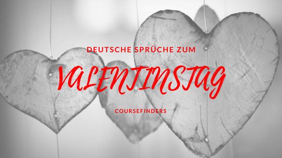 Deutsche Sprüche zum Valentinstag