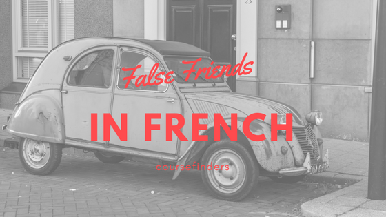 False Friends in French