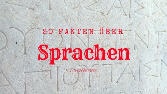 20 Fakten über Sprachen
