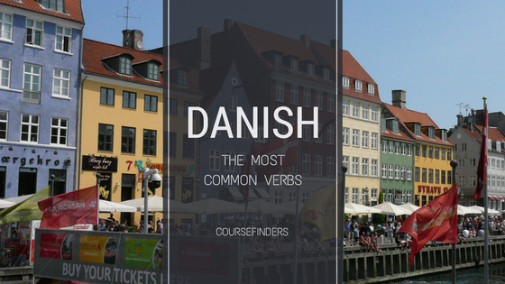 Danish - the most common verbs