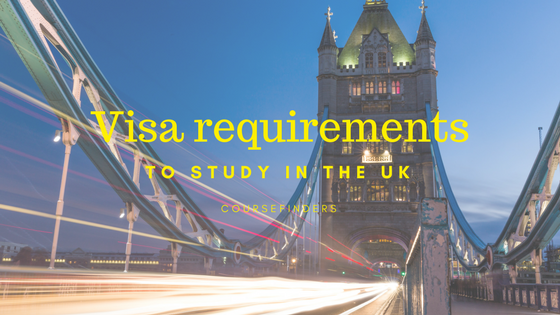 Visa requirements to study in the UK
