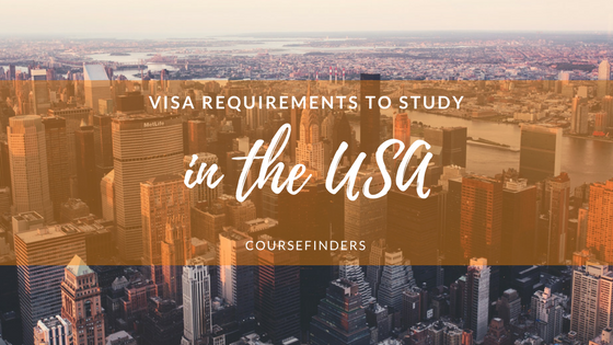 Visa requirements to study in the USA