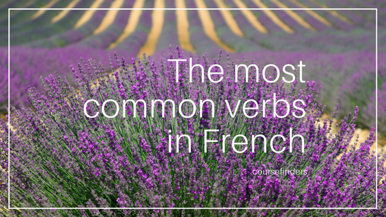 The most common verbs in French