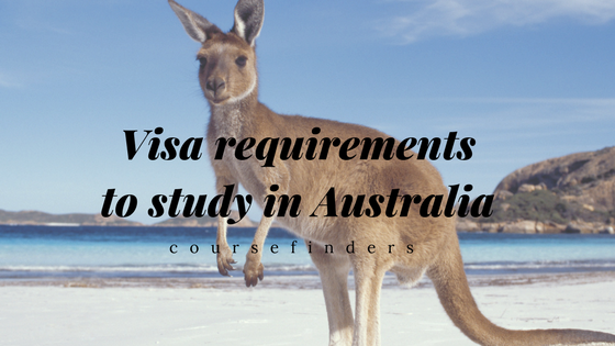 Visa requirements to study in Australia