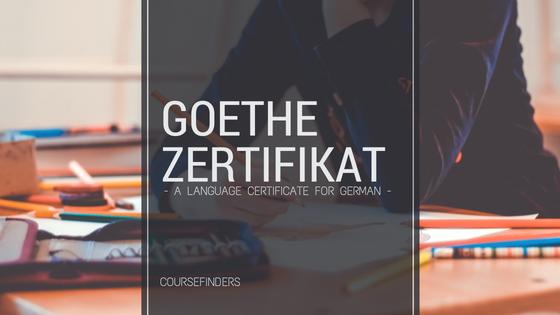 Goethe Zertifikat A Language Certificate For German Blog