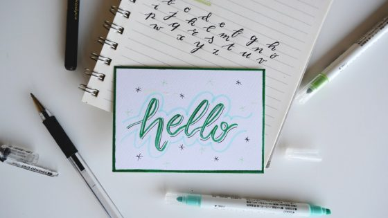 caderno ingles hello