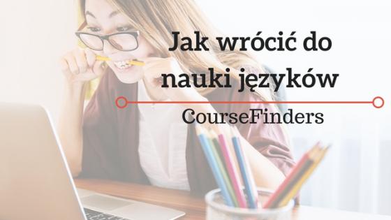 Jak wrócić do nauki języków
