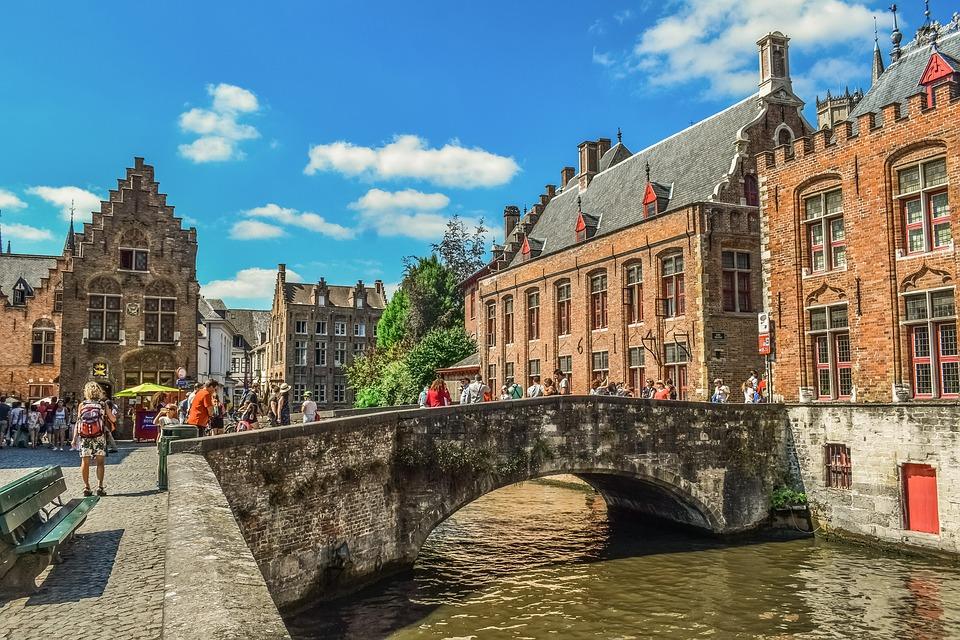 Bruges Belgique automne
