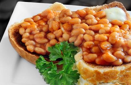 beans toast