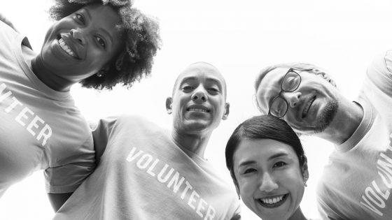bénévoles service civique