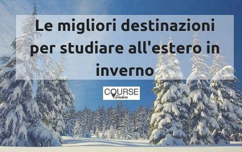 studiare all'estero in inverno