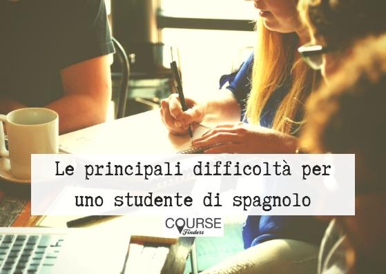 principali difficoltà per uno studente di spagnolo